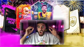 FIFA 20: Prime ICON PACKS mit ROULETTE 🔥🔥 SUMMER HEAT EVENT !!
