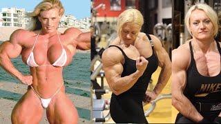 Top 5 cô gái tập thể hình, có cơ bắp đáng sợ nhất thế giới