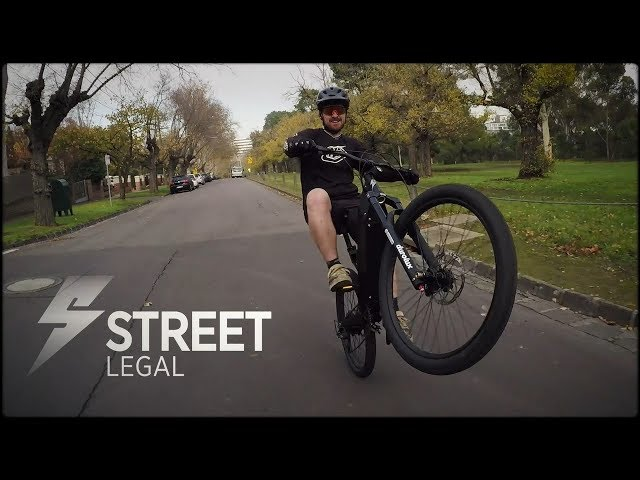 Make The City Your Playground on the Stealth P-7