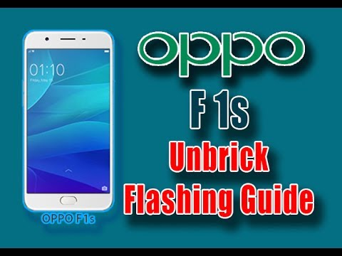 How to Flash Oppo F1s Unbrick Firmware