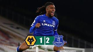 Wolverhampton vs Everton 1-2 All Goals & Highlights 12/01/2021 HD
