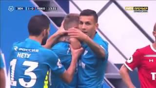 зенит-Локомотив 5:3  Обзор матча