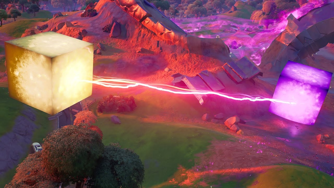Download A Mini KEVIN THE  CUBE Live Event Has Started In Fortnite! (The Awakening Live Event!)