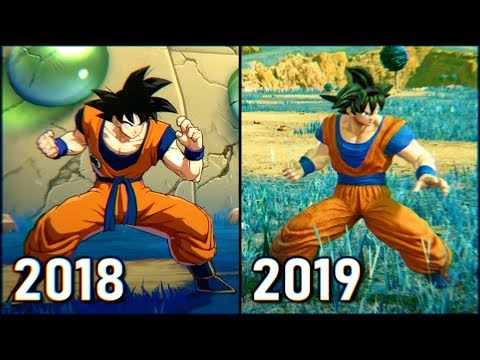 Jump Force vs Dragon Ball FighterZ | Comparison of Goku