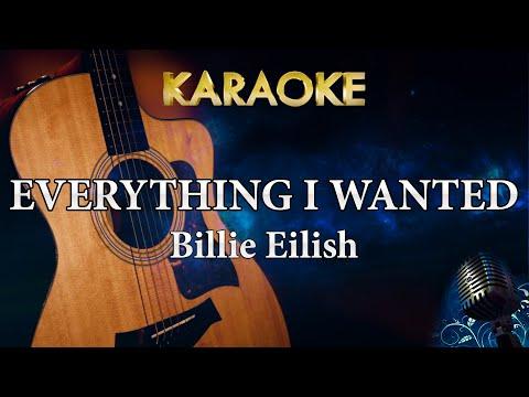 Billie Eilish - everything i wanted Acoustic Guitar Karaoke