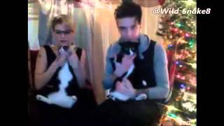 Juliet Simms & Andy Biersack - Jingle Bells Rock c