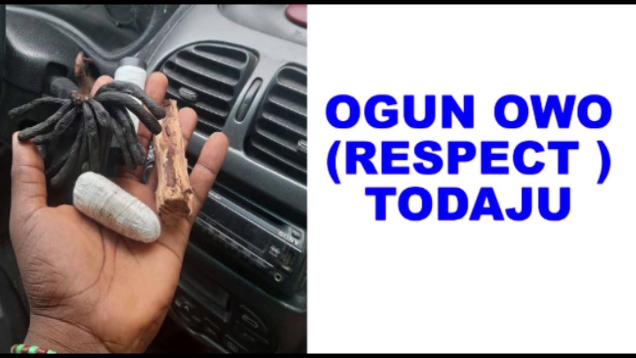 Download Ogun owo (respect) todaju