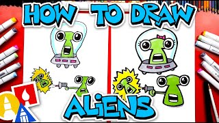 How To Draw Funny Cartoon Aliens