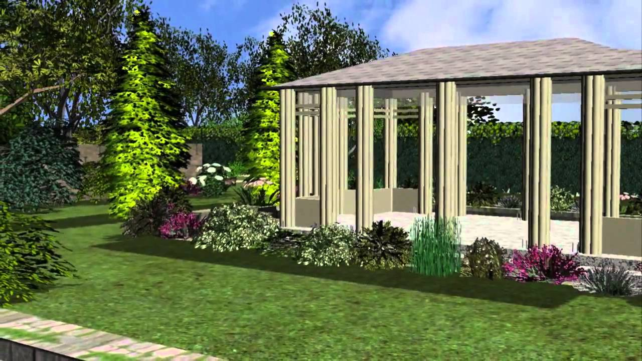 3d garten designer 11 screenshots youtube. Black Bedroom Furniture Sets. Home Design Ideas