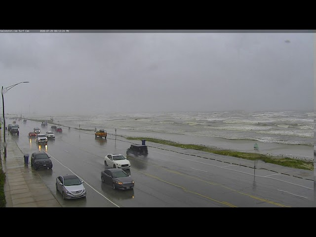 Surf Cam (East) Timelapse During Hurricane Hanna