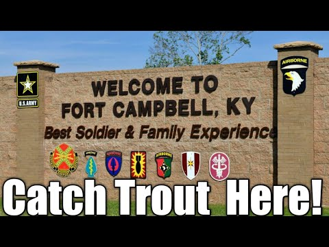Exploring Fort Campbell's trout stream