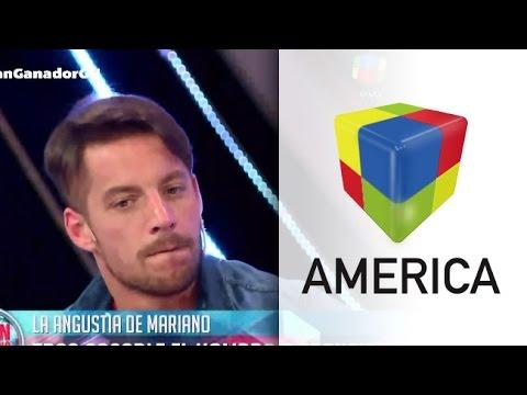 La reacción de Francisco al ver a Mariano llorando