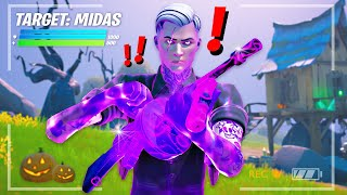 Finding *MIDAS* BOSS in FORTNITE!