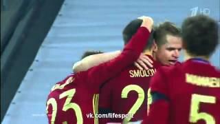 Россия 3 0 Литва   Товарищеский матч 2016   Обзор матча