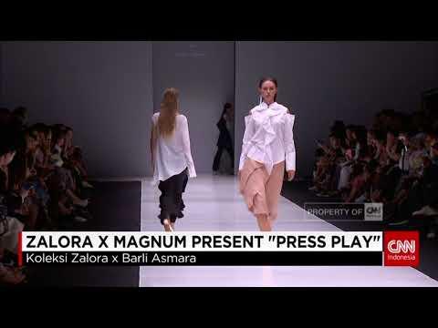 CNN Indonesia JFW 2018-Zalora x Magnum Press Play