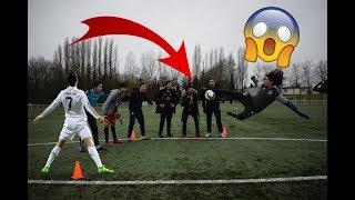 FOOTBALL REPRISE DE VOLLEY CHALLENGE AVEC LA FAMILLE ! thumbnail