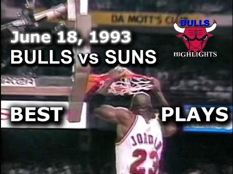 1993 Bulls vs Suns game 5 highlights