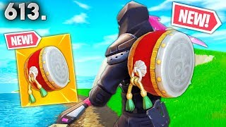 *NEW* DRUM BACKPACK *COMING SOON*..?! Fortnite Funny WTF Fails and Daily Best Moments Ep.613