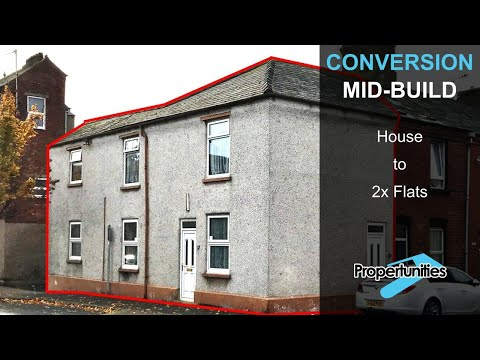 House to 2x Flats Conversion - A Tour Around [VIDEO 1]
