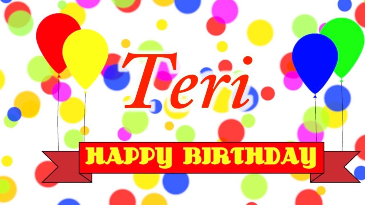 happy birthday teri Happy Birthday Teri Song   YouTube happy birthday teri