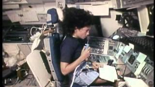 Space Shuttle Flight 12 (STS-41D) Post Flight Presentation