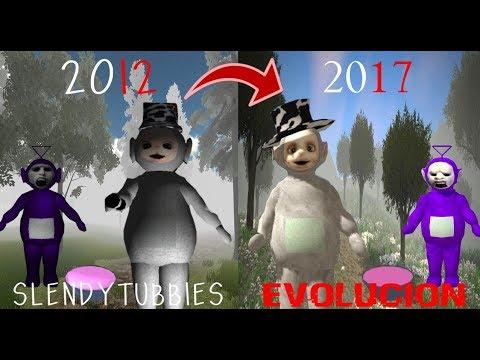 Slendytubbies Evolución -