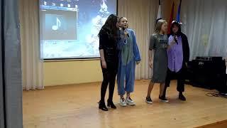 Новый Год 6 классов в школе им.А.С.Попова