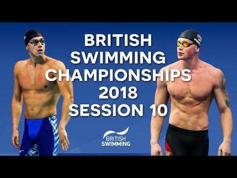 EISM inc. British Swimming Championships 2018 - Session Ten