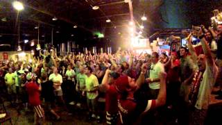 American Outlaws-Birmingham Goal Reaction Dempsey vs. Portugal