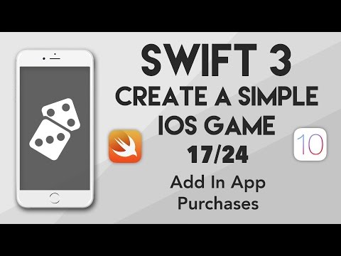Swift 3 Create A iOS Game #17 - Add In App Purchases
