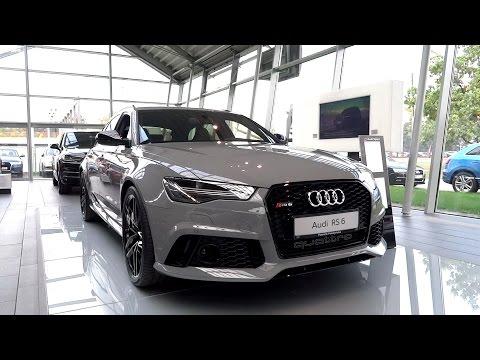 2016 Audi RS6 4.0 V8 BiTurbo (560hp) Review Detailed Presentation 2015