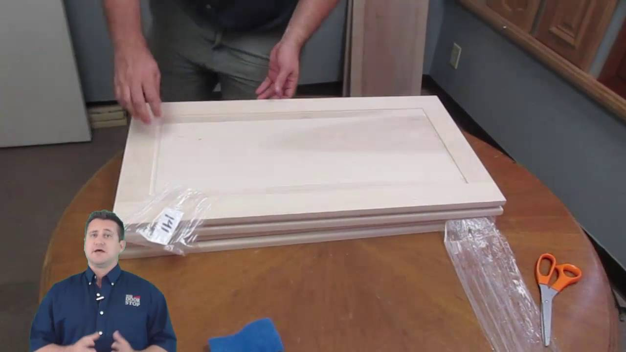 how to prevent warping in unfinished cabinet doors