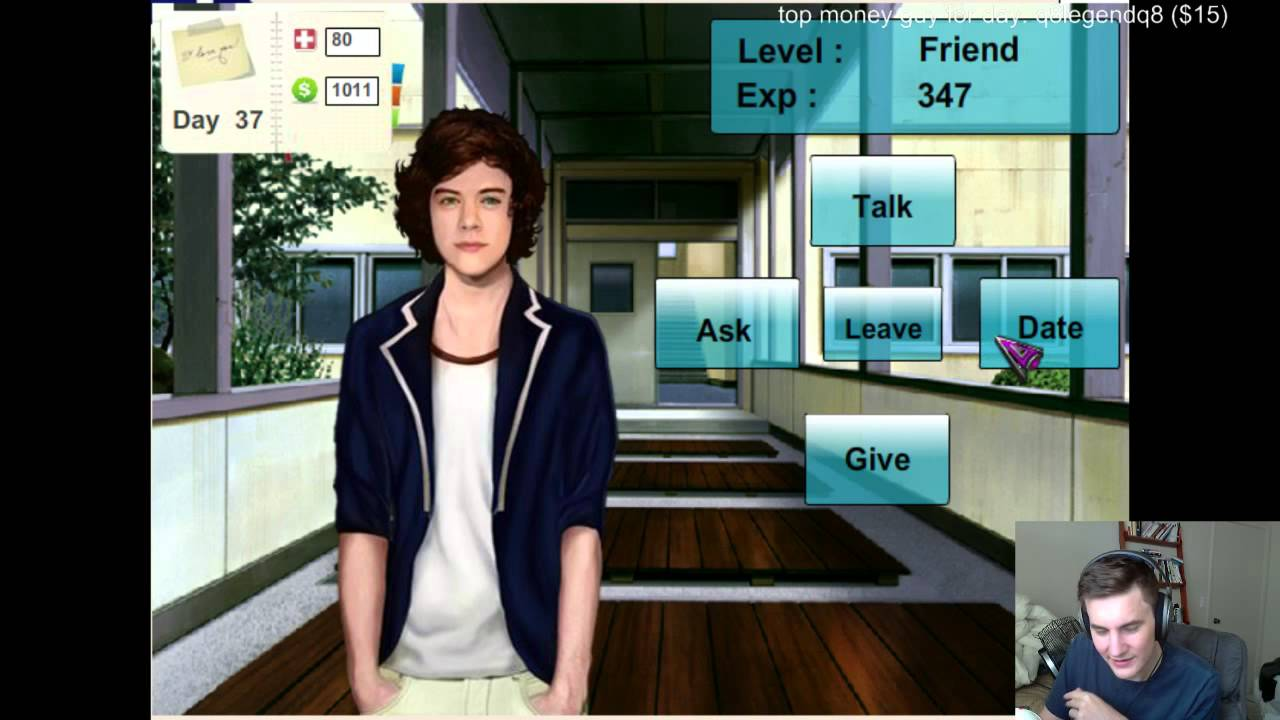 One direction game dating