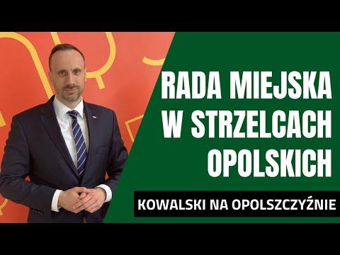 Sesja Rady Miejskiej w Strzelcach Opolskich dotycząca budowy obwodnicy