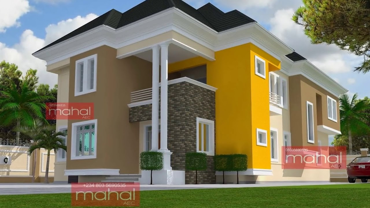 Modern Nigerian House Design Ideas - YouTube on Modern House Painting Ideas  id=50210