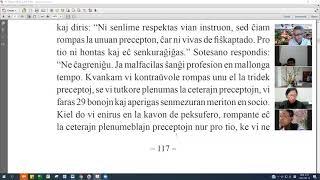 09 | La Sotesana Instruo de Ŭonbulismo | 에스페란토 원불교 대종경 공부 (zoom)