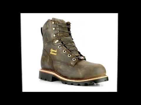 Mens Chippewa Boots Steel Toe Waterproof Work Boot 26330 @ Steel-Toe-Shoes