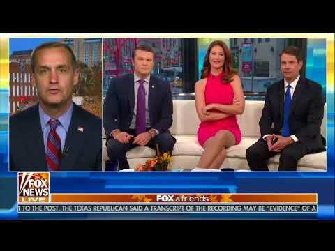 Fox News, Lewandowski discuss the meaning of upside-down Christmas trees