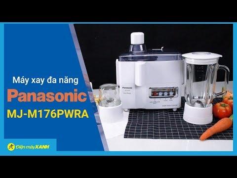 Máy Xay Panasonic: Gọn Gàng, Tiện Lợi, đa Năng (MJ-M176PWRA) • Điện Máy XANH