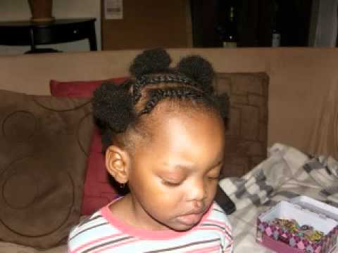 Little Black Girl's Hairstyle