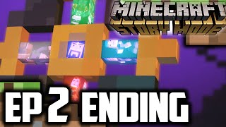 Minecraft Story Mode EPISODE 2 ENDING | THE END! | Minecraft Story Mode Ending Reaction
