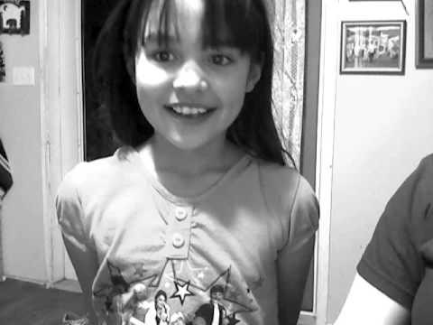 my little sister TIA WOOD singing