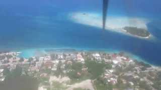 Landing to RGI (Rangiroa)