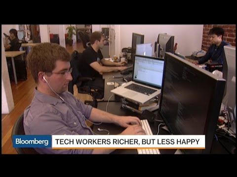 Not Happy in Your Job? You Probably Work in Tech
