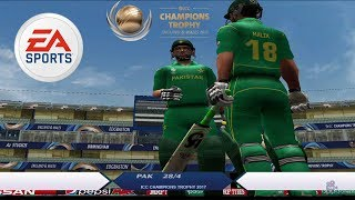 EA Cricket 07 Champions Trophy 2017 Patch - Pakistan vs India 2017 Gameplay