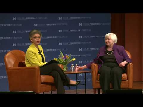 .@fordschool - Janet Yellen, chair of the U.S. Federal Reserve System - official recording