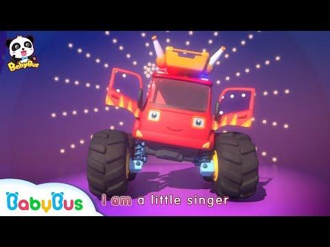 Monster Car Singing Contest   Baby Panda Car Patrol   Christmas Party   BabyBus