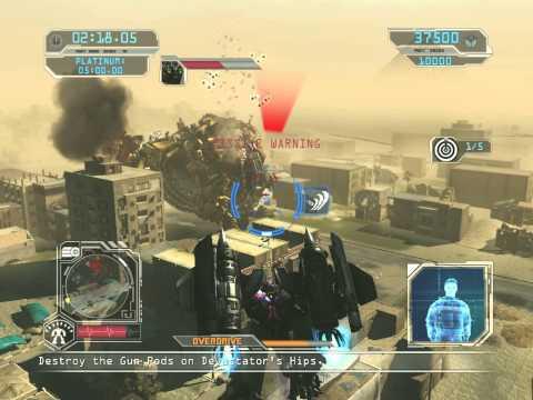 Transformers Revenge of the Fallen GAME-Optimus Prime vs Devastator (PLATINUM MEDAL) HD