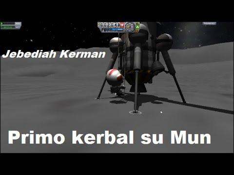 [ITA] Kerbal Italia Space Program #5: Jeb, Primo kerbal su Mun