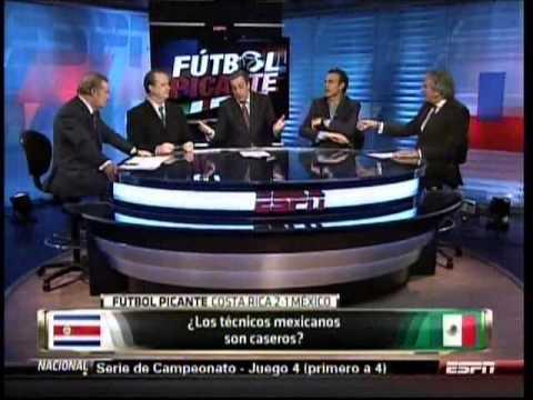 Futbol picante I Los técnicos Mexicanos son caseros